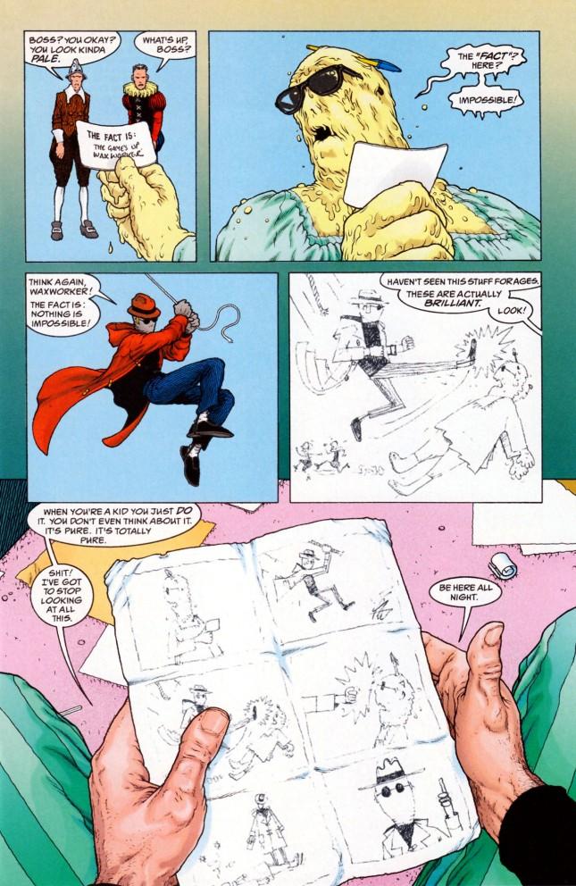 Flex Mentallo kid comics
